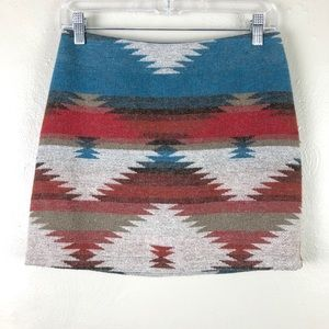 American Eagle Outfitter Southwestern Pencil Skirt